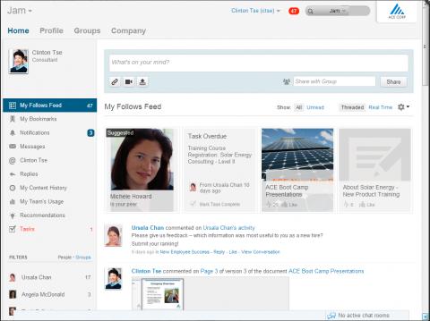 SAP dévoile enfin sa solution logicielle pour l'entreprise 2.0