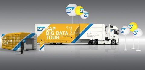 Le tour de France de SAP pour évangéliser les industriels au big data