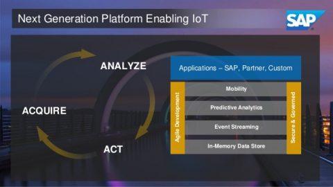 SAP booste Hana pour l'IoT et l'analyse prédictive
