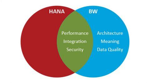 SAP HANA or SAP BW ? Choice depends on SAP data management needs